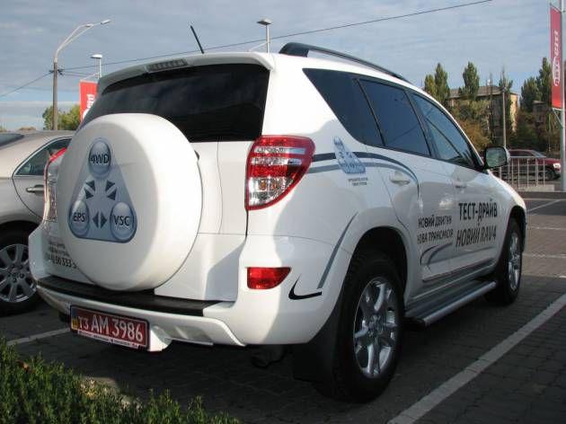 Оформление автомобиля пленкой, 2010