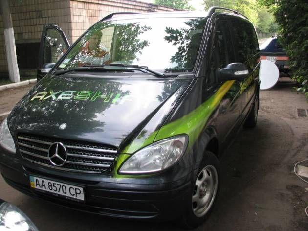 Оформление автомобиля пленкой с полноцветной печатью, 2010