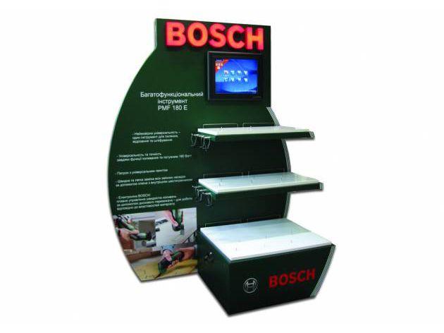 Двусторонний стенд для инструмента BOSCH, 2011