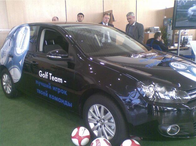 Оклейка автомобиля к Евро-2012, 2012