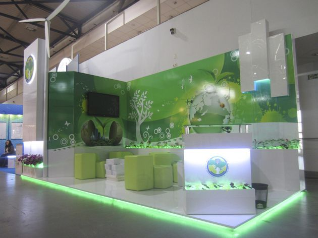 Экологичный выставочный стенд, 2013