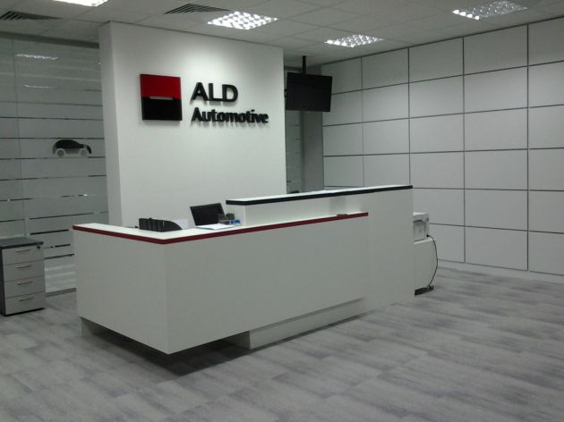 Офисный стол-ресепшен, 2014