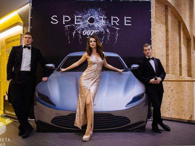 """Фотозона к фильму """"Агент 007"""", 2015"""