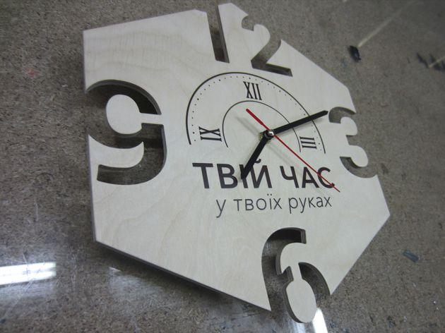 Часы из фанеры, 2016