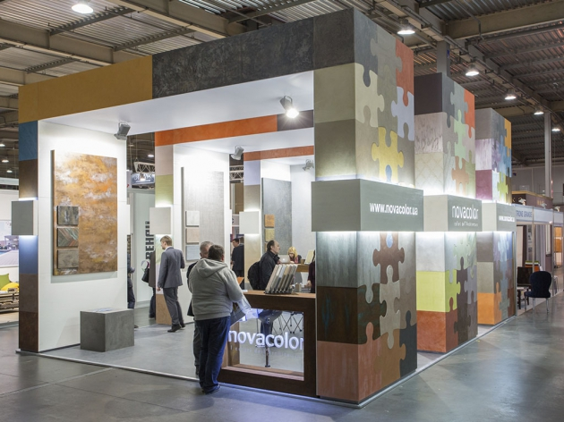 Выставочный стенд Novacolor, 2015