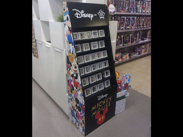 Стенд Disney, 2016