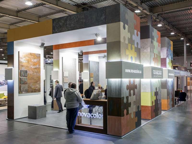 Выставочный стенд Novacolor