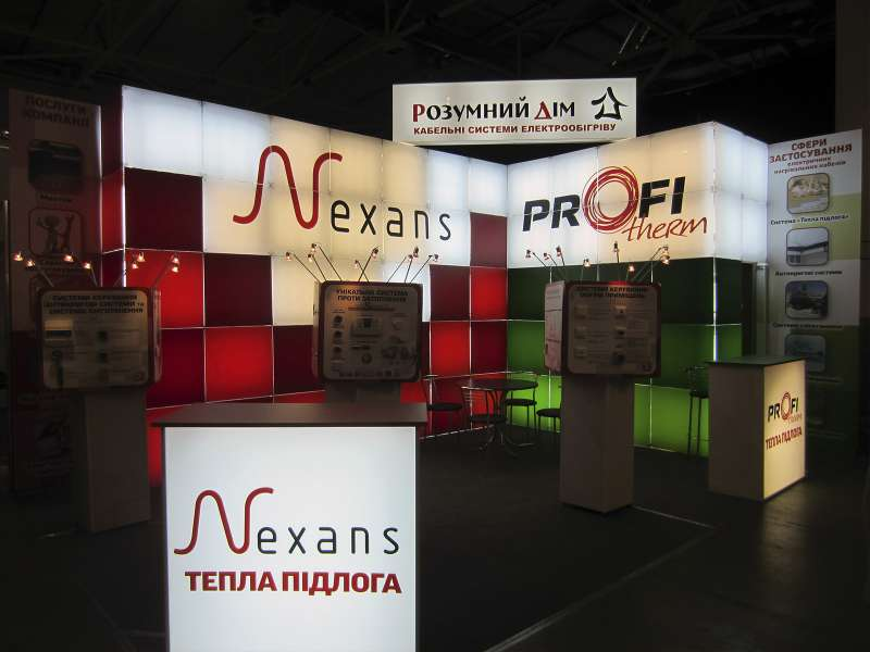 Выставочный стенд Nexans