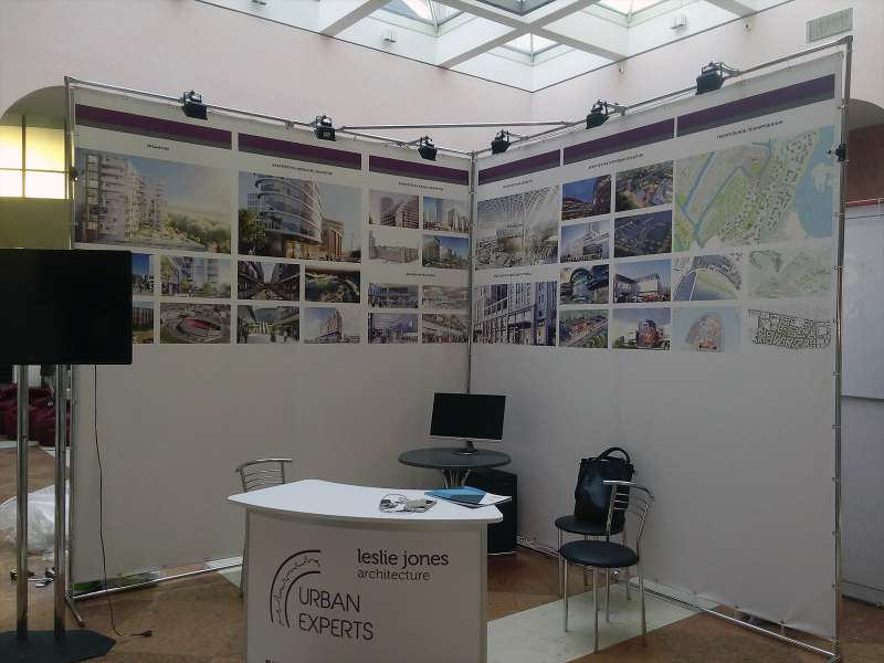 Выставочная экспозиция Urban Experts