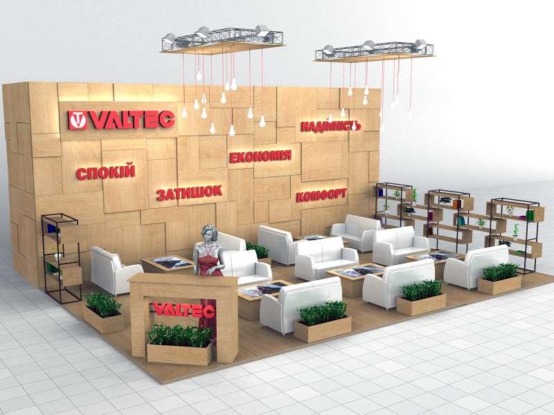 Выставочный стенд Valtec