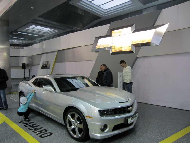 Выставочный стенд Chevrolet