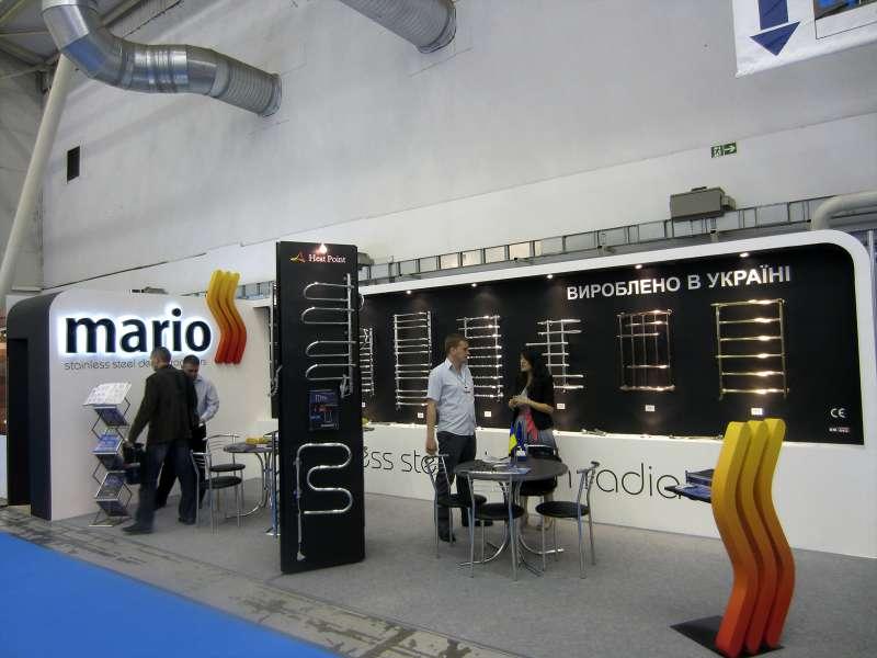 Выставочный стенд Mario