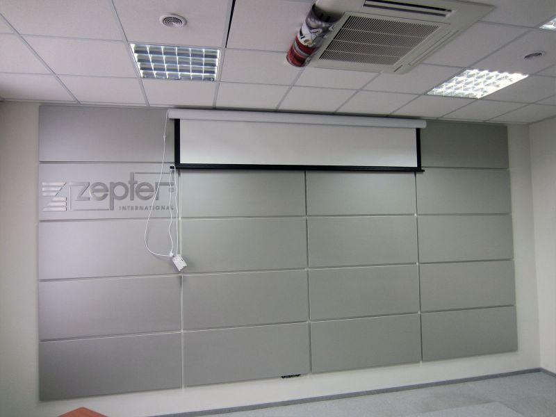 Отделка стены декоративными панелями (№879)