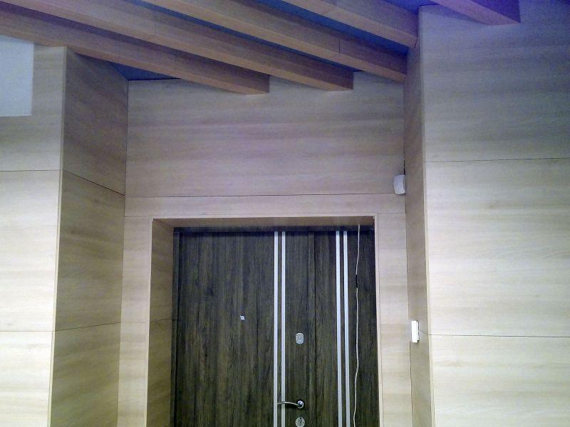 Обшивка стен декоративными панелями (№1248)