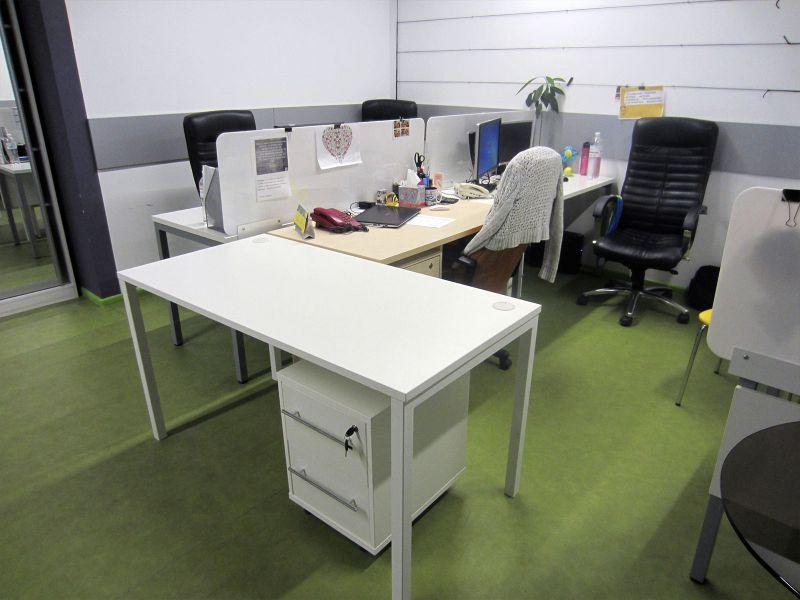 Стол и тумбочка офисные (№797)