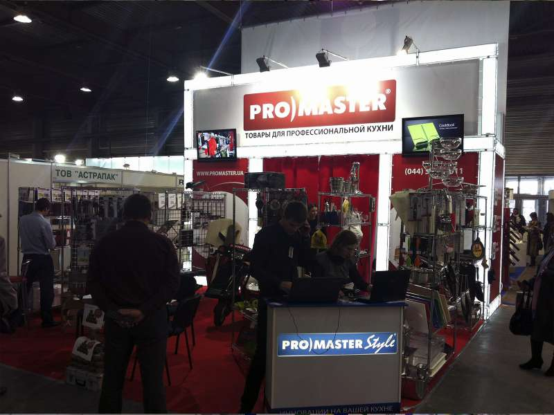 Выставочный стенд Promaster
