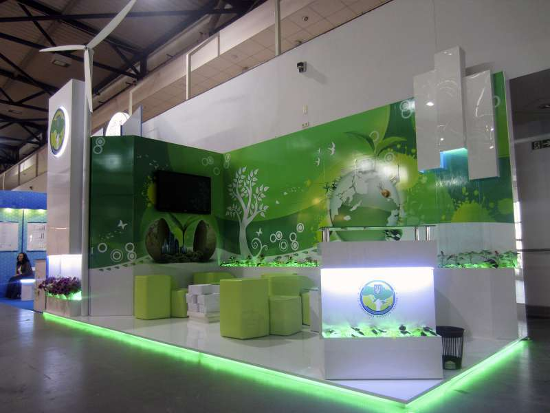 Выставочный стенд рекламный