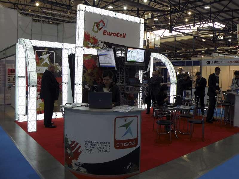 Выставочный стенд Eurocell