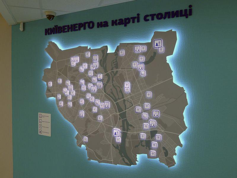 Световая декоративная карта (№1341)