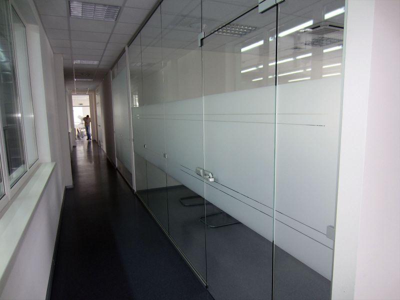 Оклейка стекол витражной пленкой заказать (№506)