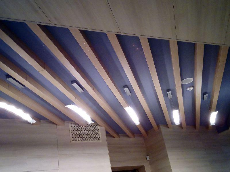 Декоративные потолочные балки наружная реклама (№1227)