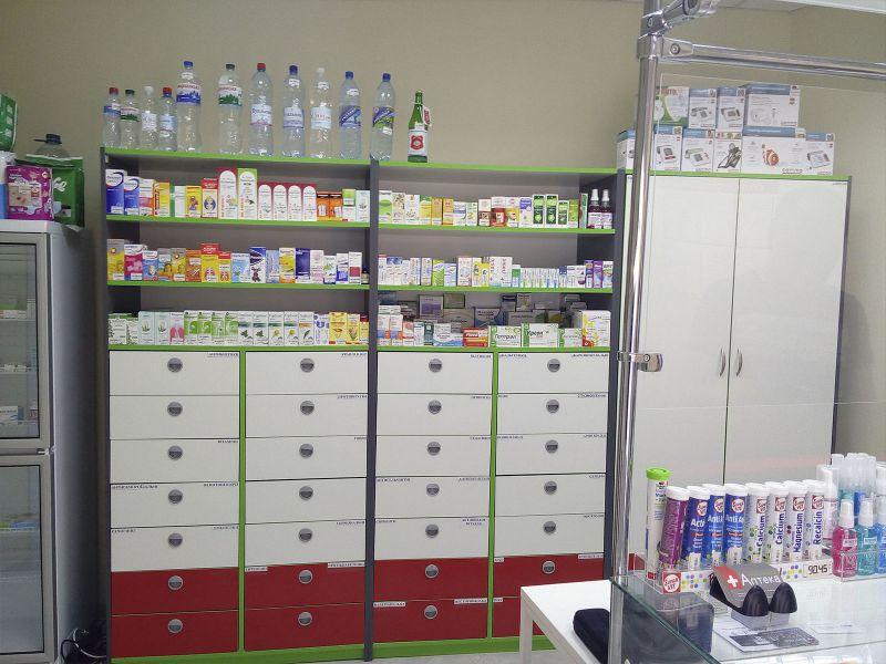 Витрина аптечная с логотипом заказать (№156)