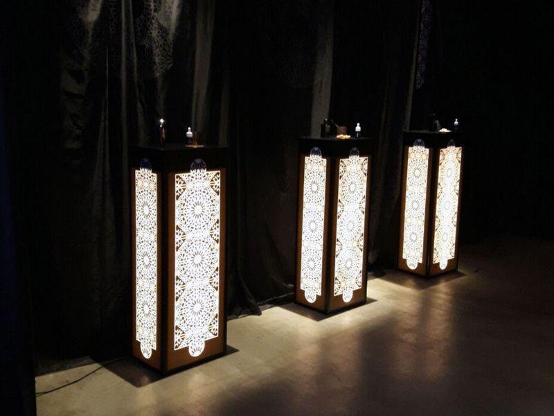 Промотумбочки в марокканском стиле выставочные стенды киев