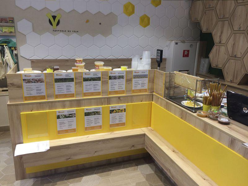 Торговый прилавок Киев под ключ, изготовление рекламных вывесок Киев