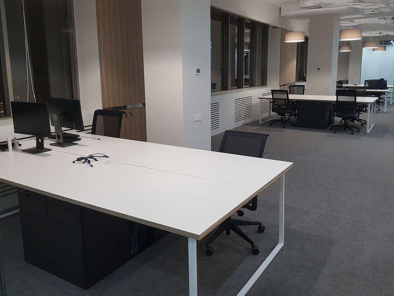 Столы офисные шпонированные изготовление Киев